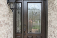 Entry door system installed in Jackson, NJ.