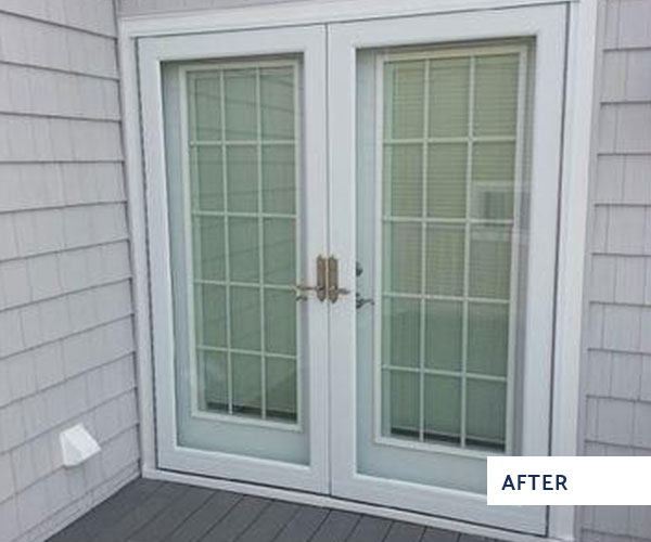 install patio door