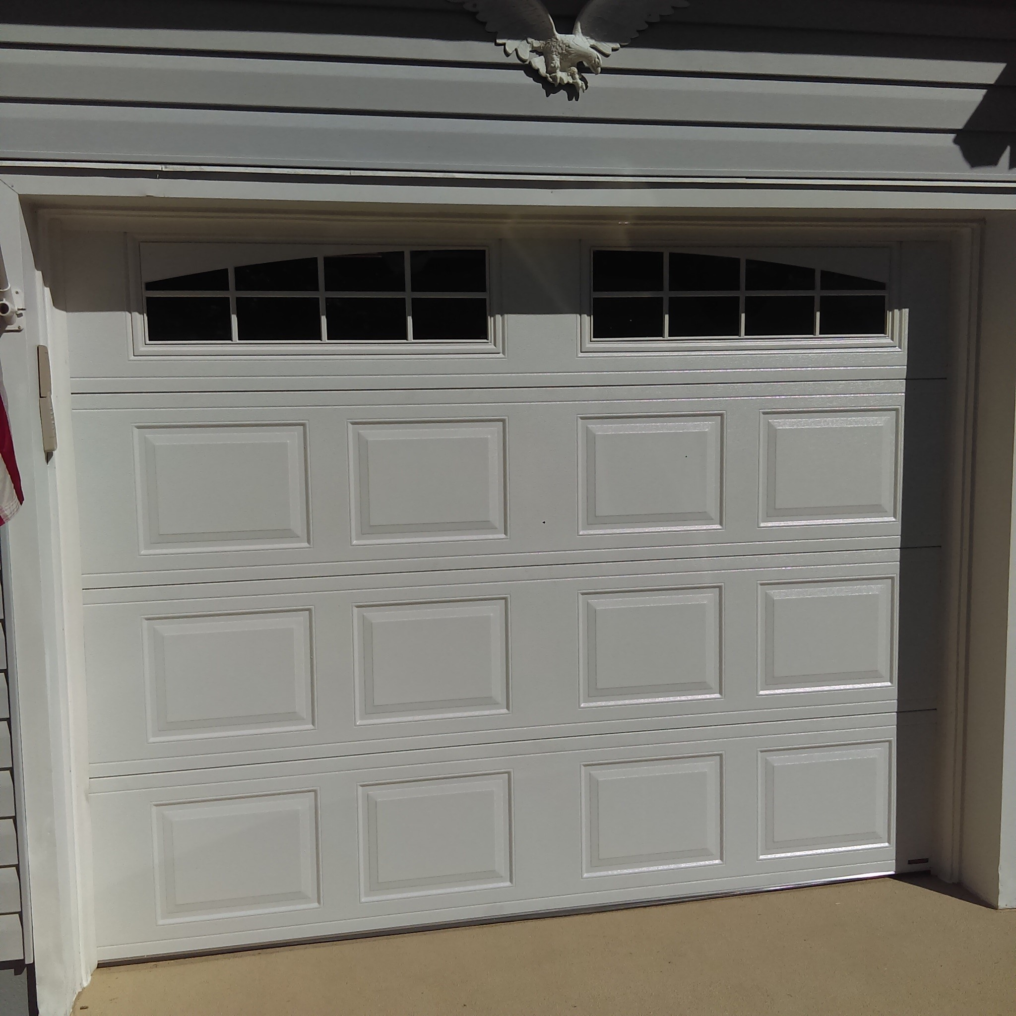 Garage door installation toms river door window for Door window replacement